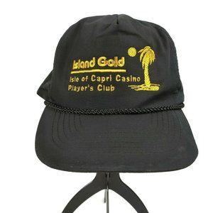 Vintage Isle Of Capri Casino Players Club Hat Cap